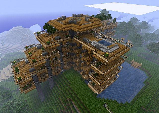 我的世界建筑地图下载|minecraft房子设计图存档下载