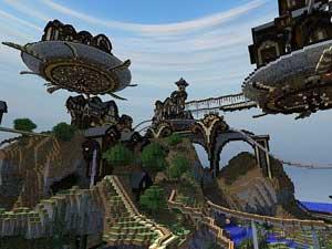 我的世界过山车地图下载 Minecraft过山车存档下载 我的世界中文网图片