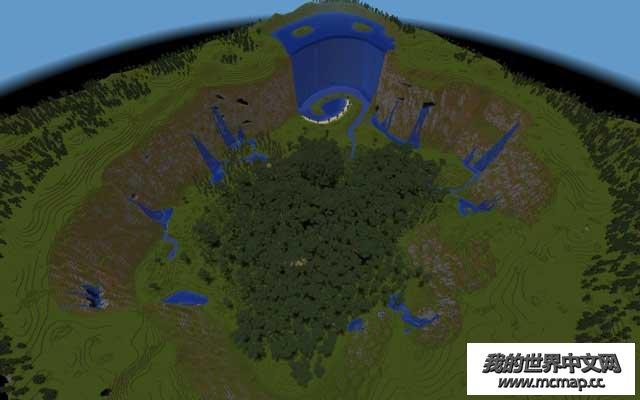 我的世界雨林山谷地图下载|体验在热带雨林的山谷里