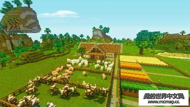 天才宝宝笨妈咪下载我的世界阿尔法农场地图下载|一个非常有爱的农场设计存档_我的世界天才940