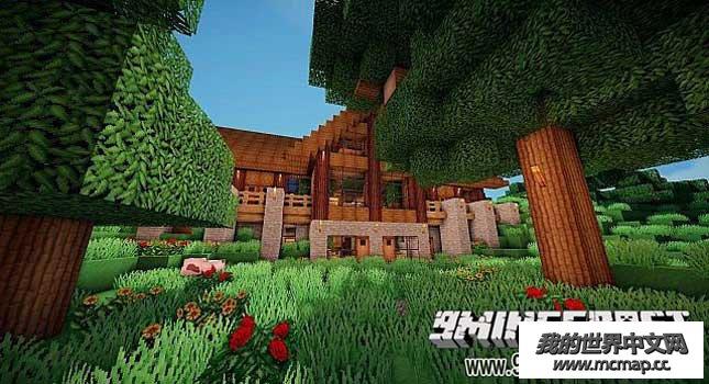 我的世界生存小木屋地图下载|mc1.8生存小屋存档下载