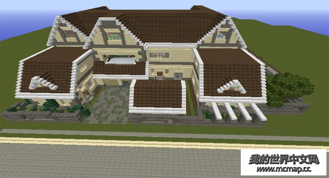 别墅 平面图 645_350